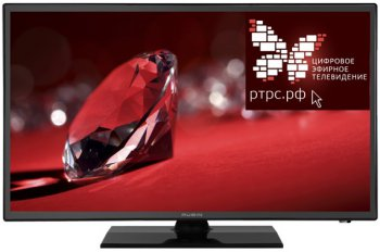"Телевизор-LCD Rubin 19"" RB-19SE9T2C черный/HD READY/60Hz/DVB-T2/USB (RUS)"
