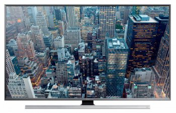 "Телевизор-LCD 55"" Samsung UE55JU7000UXRU черный/Ultra HD/1000Hz/DVB-T/DVB-T2/DVB-C/DVB-S2/3D/USB/WiFi/Smart (RUS)"