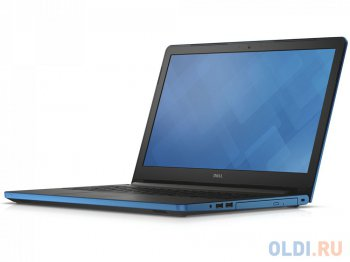 "Ноутбук Dell Inspiron 5558 <5558-5888> Core i3 4005U/4Gb/500Gb/DVD-RW/nVidia GeForce 920M 2Gb/15.6""/HD (1366x768)/Linux/lt.blue/WiFi/BT/Cam/2630mAh"