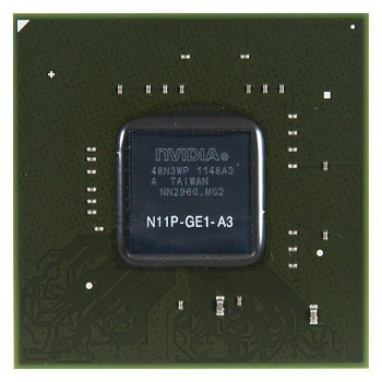 Видеочип GeForce G330M, N11P-GE1-A3 [120126]