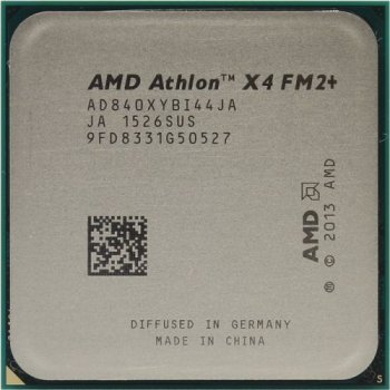 Процессор AMD Athlon X4 840 BOX (AD840XY) 3.1 GHz/4core/ 4 Mb/65W/5 GT/s Socket FM2+