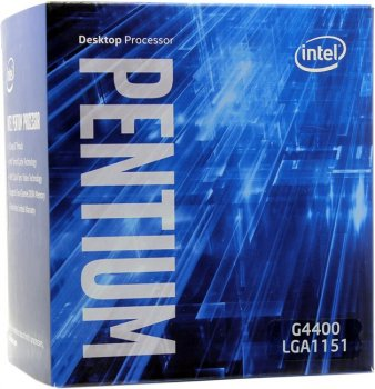 Процессор Intel Pentium G4400 BOX 3.3 GHz/2core/SVGA HD Graphics 510/0.5+3Mb/54W/8 GT/s LGA1151