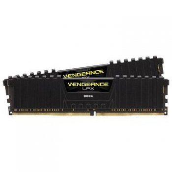 Оперативная память DDR4 2x4Gb 3000MHz Corsair CMK8GX4M2B3000C15 RTL PC4-22400 CL14 DIMM 288-pin 1.35В