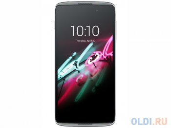 "Смартфон Alcatel OT6039Y IDOL 3 (Dark Gray) 1SIM/5.5"" 1280x720/13Mpx/8Gb/LTE/GPS/WiFi/Android 5.0"