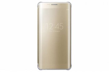 Чехол Samsung для Samsung Galaxy S6 Edge Plus ClVCover G928 золотистый (EF-ZG928CFEGRU)