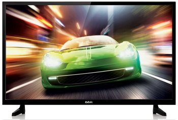 "Телевизор-LCD BBK 28"" 28LEM-1022/T2C черный/HD READY/50Hz/DVB-T/DVB-T2/DVB-C/USB (RUS)"