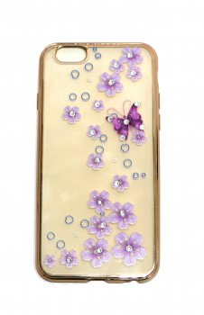 Чехол CASE HOCO GOLD для iPhone 6S BUTTERFLY