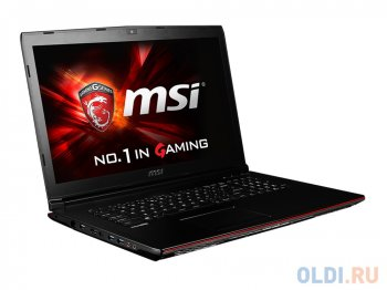 "Ноутбук MSI GP72 2QE(Leopard Pro)-036XRU i5-4210H (2.9)/8G/1T/17.3""FHD Anti-Glare/NV GTX950M 2G DDR3/DVD-SM/BT/6Cell/DOS/Black"
