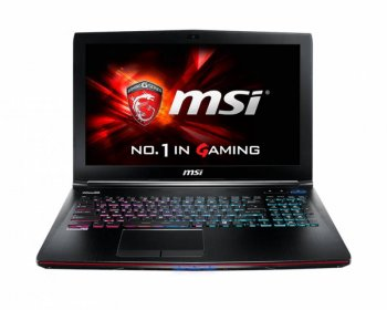"Ноутбук MSI GE62 2QE-244RU Core i7 5700HQ/8Gb/1Tb/DVD-RW/nVidia GeForce GTX 965M 2Gb/15.6""/FHD (1920x1080)/Windows 8.1 Single Language/black/WiFi/BT/C"