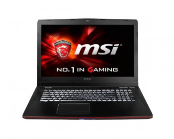 "Ноутбук MSI GE72 2QC(Apache)-428XRU Core i7 5700HQ/8Gb/1Tb+128Gb/DVD-RW/nVidia GeForce GTX 960M 2Gb/17.3""/FHD (1920x1080)/Free DOS/black/WiFi/BT/Cam"