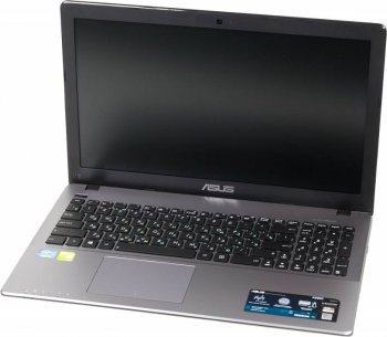 "Ноутбук Asus K550CC-XO1287H Core i5 3337U/8Gb/1Tb/DVD-RW/nVidia GeForce GT 720M 2Gb/15.6""/HD (1366x768)/Windows 8 64/dk.grey/WiFi/BT/Cam/2950mAh"