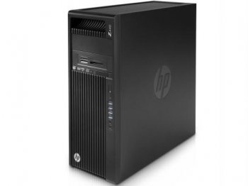 Системный блок HP Z440 E5 1650v3 (3.5)/16Gb/1Tb 7.2k/K2200 4Gb/DVDRW/Windows 8.1 64 dwnW7Pro64/GbitEth/240W/клавиатура/мышь/черный