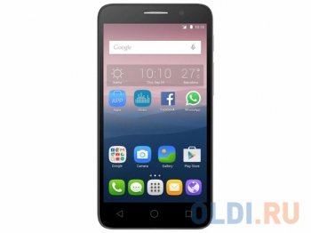 "Смартфон Alcatel OT5015D POP 3 (White leather) 2SIM/5"" 854x480/5Mpx/4Gb/GPS/WiFi/Android 5.0"