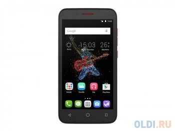 "Смартфон Alcatel OT7048X GO PLAY (Black+Dark Red) 1SIM/5"" 1280x720/8Mpx/8Gb/GPS/WiFi/Android 5.0/2500 мАч"