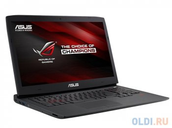 "Ноутбук Asus G751Jy i7-4750HQ (2.0)/24G/1T + 256D SSD/17,3""FHD AG/NV GTX980M 4G/BluRay/BT/Win10"