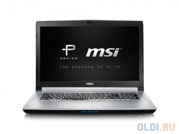 "Ноутбук MSI PE70 6QE-062RU i7-6700HQ (2.6) Skylake/ 8G/ 1Tb/ 17.3"" FHD Anti-Glare IPS/ NV GTX960M 2GB DDR5/DVD-SM/BackLight/6Cell/ Win10/ Black"