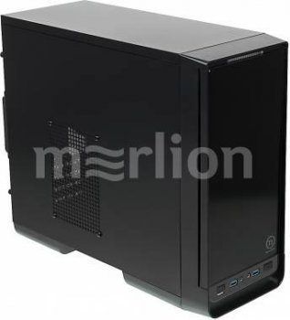 Корпус Thermaltake Urban S1 CA-1A8-00M1NN-00 черный w/o PSU mATX 2xUSB3.0 audio front door