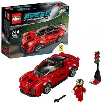 Конструктор Lego Speed Champions LaFerrari пластик (от 7 до 14 лет) (75899)