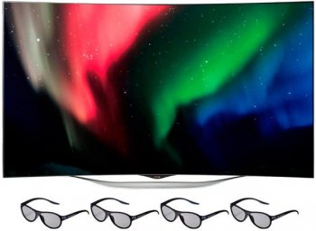 "Телевизор-LCD 55"" LG 55EC930V черный/FULL HD/50Hz/DVB-T2/DVB-C/DVB-S2/3D/USB/WiFi/Smart (RUS)"