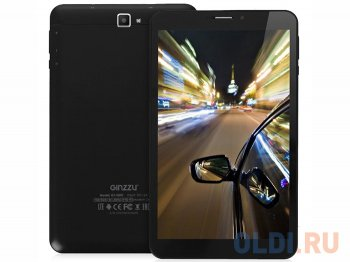 "Планшетный компьютер Ginzzu GT-X890 Black 8Gb 8"" LTE 8"" IPS 1280*800/1Gb / 8Gb/1.3GHz Quad/2SIM/LTE/Wi-Fi/GPS/BT/4000mAh/Android 5"