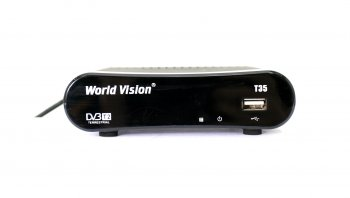 *Ресивер DVB-T2 World Vision T35 (MultiView,PVR&TiteShift,FullEPG,USB,1080p,HDMI,3xRCA,DDR2 32MB,чип Acer Ali M3821,тюнер Maxlinear MxL603) (б/у)
