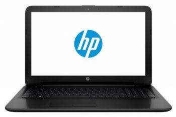 Ноутбук hp 15-ac000ur <N0J78EA#ACB> Cel N3050/2/500/HD Graphics/WiFi/BT/Win8.1/black