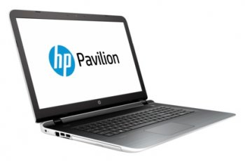 "Ноутбук hp Pavilion 17-g127ur Core i5 5200U/8Gb/1Tb/DVD-RW/nVidia GeForce GT 940M 2Gb/17.3""/HD+ (1600x900)/Windows 10/white/WiFi/BT/Cam"