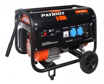 Генератор Patriot GP 3810L 3.0кВт