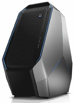 Системный блок Dell Alienware Area 51 Base DM i7 5930K (3.9)/32Gb/4Tb 5.4k/SSD512Gb/3xGTX980Ti 6Gb/DVDRW/Windows 10 Single Language 64/WiFi/BT/1500W