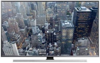 "Телевизор-LCD Samsung 85"" UE85JU7000UXRU серебристый/Ultra HD/1000Hz/DVB-T/DVB-T2/DVB-C/3D/USB/WiFi/Smart (RUS)"