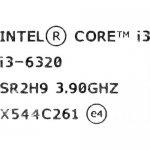 Процессор Intel Core i3-6320 3.9 GHz/2core/SVGA HD Graphics 530/0.5+ 4Mb/51W/8 GT/s LGA1151