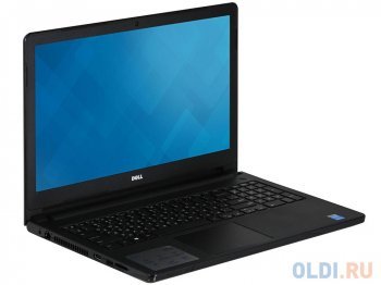 "Ноутбук Dell Inspiron 5558 i3-4005U (1.7)/4G/500G/15,6""HD/DVD-SM/BT/Linux (5558-7894) (Black)"