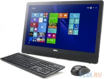 "Моноблок Dell Inspiron 3459 (3459-6052) i3-6100/4G/1T/DVD-SM/23,8"" IPS FHD Non-Touch/Intel HD/Wi-Fi/BT/wlKB&M/cam/Linux"