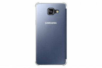 Чехол (клип-кейс) Samsung для Samsung Galaxy A5 Clear View Cover A510 черный (EF-ZA510CBEGRU)