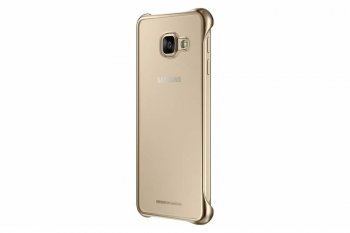 Чехол (флип-кейс) Samsung для Samsung Galaxy A3 Clear Cover A310 золотистый (EF-QA310CFEGRU)