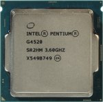 Процессор Intel Pentium G4520 3.6 GHz/2core/SVGA HD Graphics 530/0.5+3Mb/51W/8 GT/s LGA1151