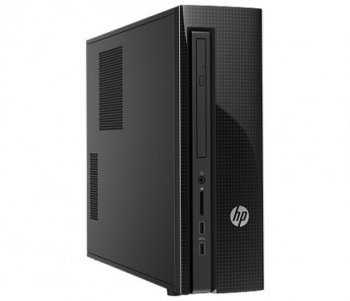 Системный блок HP Slimline Desktop 450-004ur <M1X06EA> Core i5 4460T/8/1Tb/DVD-RW/Windows 8/Kb+M