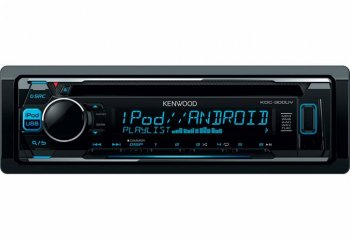 Автомагнитола Kenwood KDC-300UV 1DIN 4x50Вт