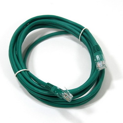 Кабель UTP Patch cord Panduit UTPSPL12MGRY 12м RJ45 TP, кат. 6, LSZH, 12м, зеленый