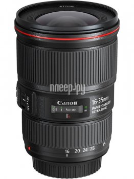 Объектив Canon EF 16-35 mm f/4L IS USM*