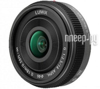 Объектив Panasonic H-H014E Lumix G 14 mm F/2.5 ASPH*