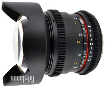 Объектив Samyang Canon M MF 14 mm T3.1 AS ED IF UMC-2 VDSLR II