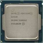 Процессор Intel Pentium G4520 BOX 3.6 GHz/2core/SVGA HD Graphics 530/0.5+3Mb/51W/8 GT/s LGA1151