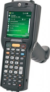 Терминал сбора данных Symbol (Motorola) MC3190-GL2H04EIA (802.11 a/b/g, Bluetooth, Full Audio, Gun, 1D Laser SE950, Color-touch display, 28 Key, High