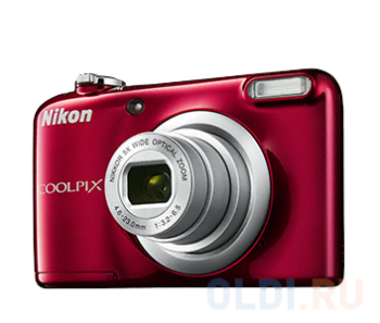 "Фотокамера Nikon Coolpix A10 Red <16Mp, 5x zoom, SD, USB, 2.7"">"