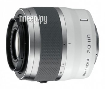 Объектив Nikon Nikkor 30-110 mm F/3.8-5.6 VR for Nikon 1 White (гарантия Nikon)