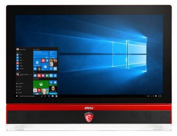 "Моноблок MSI Gaming 27 6QD-010RU 27"" Full HD i7 6700 (2.4)/8Gb/1Tb/GTX970M 6Gb/DVDRW/Windows 10/GbitEth/WiFi/BT/TV/клавиатура/мышь/Cam/черный/красный"