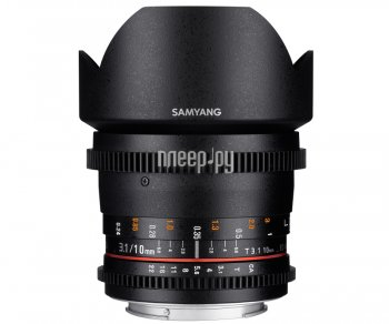 Объектив Samyang Nikon MF 10 mm T3.1 ED AS NCS CS VDSLR