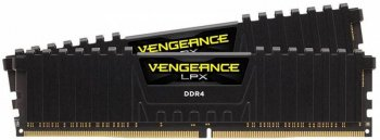 Оперативная память DDR4 2x8Gb 3466MHz Corsair CMK16GX4M2B3466C16 RTL PC4-21300 CL16 DIMM 288-pin 1.35В Intel