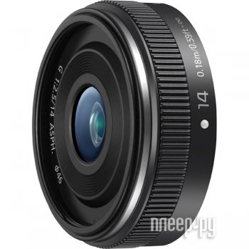 Объектив Panasonic H-H014AE Lumix G 14 mm F/2.5 II ASPH Black*